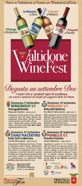locandina valtidone wine fest