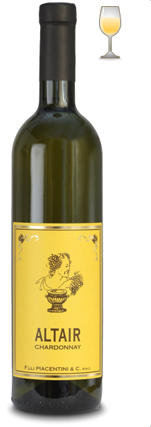 altair | chardonnay | vino doc colli piacentini