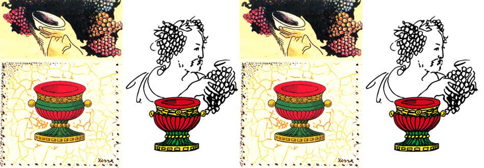 il disegno e il vecchio marchio di william xerra