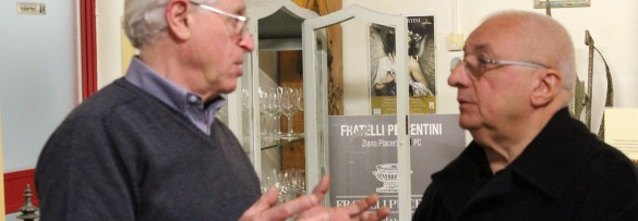 Valentino con lo chef Ettore Ferri